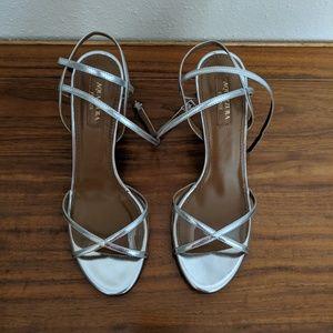 AQUAZZURA - PVC panel sandals